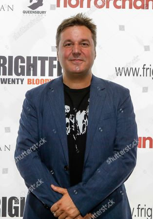 Stock Picture of David Gregory (Lost Soul: The Doomed Journey of Richard Stanley's Island of Dr Moreau) attends the screening of 'Blood & Flesh: The Reel Life & Ghastly Death of Al Adamson Master of Dark Shadows'