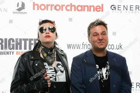 Heather Buckley (The Ranger) and David Gregory (Lost Soul: The Doomed Journey of Richard Stanley's Island of Dr Moreau) attend the screening of 'Blood & Flesh: The Reel Life & Ghastly Death of Al Adamson Master of Dark Shadows'