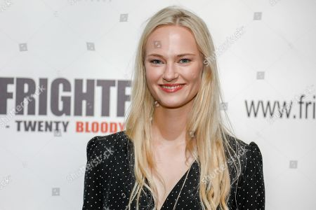 Jessica Madsen (Leatherface) attends the screening of 'Dark Light'
