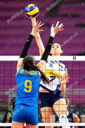 Editorial picture of Ukraine vs Italy, Lodz, Poland - 25 Aug 2019