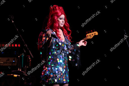 Stock Picture of Kate Pierson - The B-52s