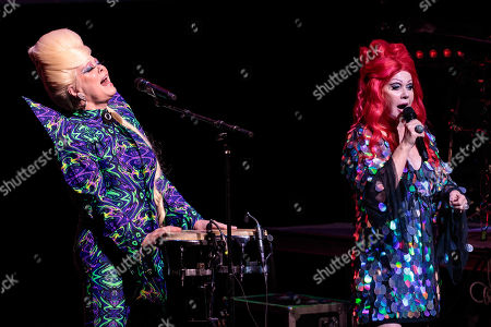 Editorial picture of The B-52s in concert at Bass Concert Hall, Austin, USA - 22 Aug 2019