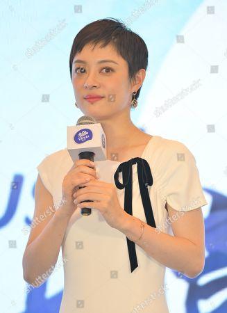 Sun Li endorses Vinda promotional event, Shanghai
