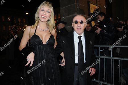 Sabrina Negri Calderoli and Carlo Delle Piane