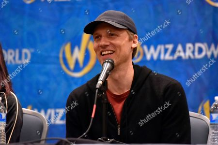 Stock Photo of Teddy Sears participates during a Q&A panel on day four at Wizard World at the Donald E Stephens Convention Center, in Chicago