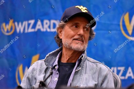 Stock Picture of Chris Sarandon participates during a Q&A panel on day four at Wizard World at the Donald E Stephens Convention Center, in Chicago