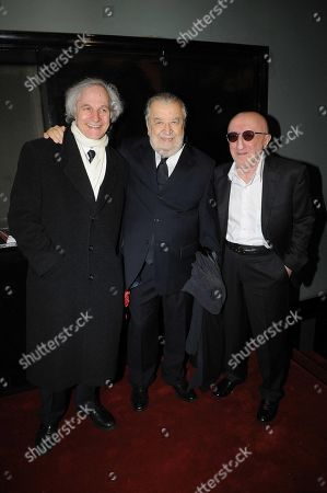 Lino Capolicchio, Pupi Avati and Carlo Delle Piane
