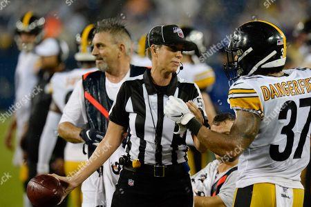Editorial photo of Steelers Titans Football, Nashville, USA - 25 Aug 2019