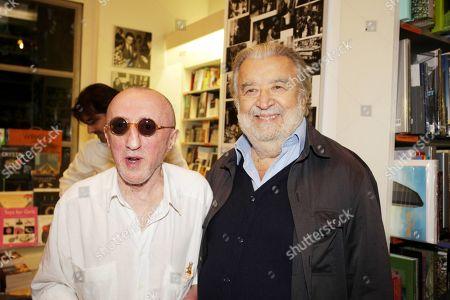 Carlo Delle Piane and Pupi Avati