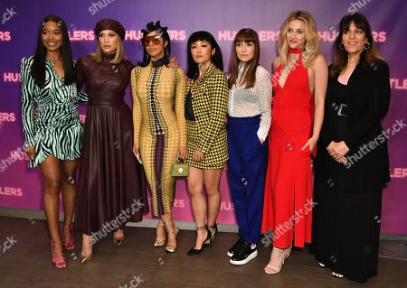 Keke Palmer, Cardi B, Jennifer Lopez, Constance Wu, Lorene Scafaria, Lili Reinhart and Elaine Goldsmith Thomas