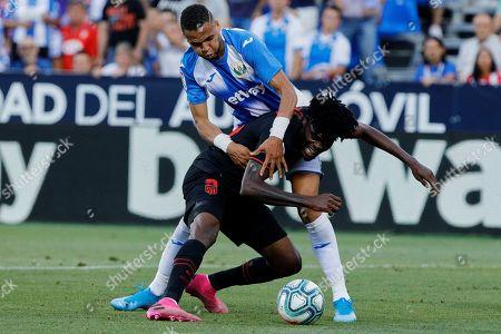 Editorial photo of Leganes v Atletico de Madrid, La Liga, Football, Butarque Stadium, Leganes, Spain - 25 Aug 2019