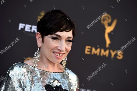 Naomi Grossman arrives at the 2019 Performers Peer Group Celebration at the Saban Media Center, in North Hollywood, Calif