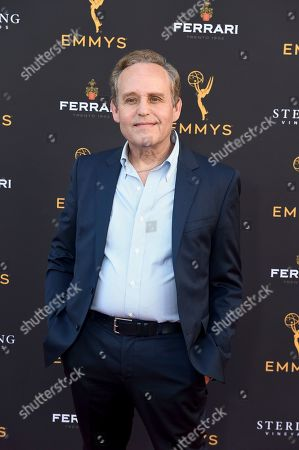 Peter MacNicol arrives at the 2019 Performers Peer Group Celebration at the Saban Media Center, in North Hollywood, Calif