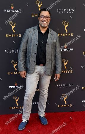 Anthony Mendez arrives at the 2019 Performers Peer Group Celebration at the Saban Media Center, in North Hollywood, Calif