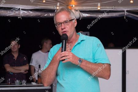 Patrick McEnroe attends the 5th annual Johnny Mac Tennis Project's Hamptons Pro-Am benefit after party at a private residence in East Hampton, in New York