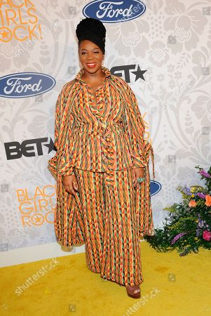 India.Arie attends the 2019 Black Girls Rock! Awards Red Carpet at the New Jersey Performing Arts Center, in Newark, N.J