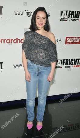 Freya Tingley attends the screening of 'The Sonata'