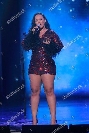 Elle Varner performs at the 2019 Black Girls Rock! Awards at the New Jersey Performing Arts Center, in Newark, N.J