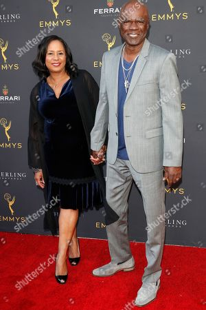 Stock Photo of Glynn Turman (R) arrives with his wife Jo-Ann Allen for the 71st Emmy Awards Season Peer Group Celebration at the Saban Media Center in North Hollywood, Los Angeles, California, USA, 25 August 2019.