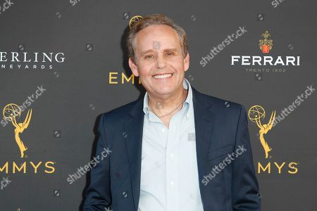 Peter MacNicol arrives for the 71st Emmy Awards Season Peer Group Celebration at the Saban Media Center in North Hollywood, Los Angeles, California, USA, 25 August 2019.