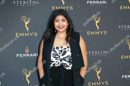 Punam Patel arrives for the 71st Emmy Awards Season Peer Group Celebration at the Saban Media Center in North Hollywood, Los Angeles, California, USA, 25 August 2019.