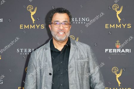 Stock Picture of US voice actor Anthony Mendez arrives for the 71st Emmy Awards Season Peer Group Celebration at the Saban Media Center in North Hollywood, Los Angeles, California, USA, 25 August 2019.