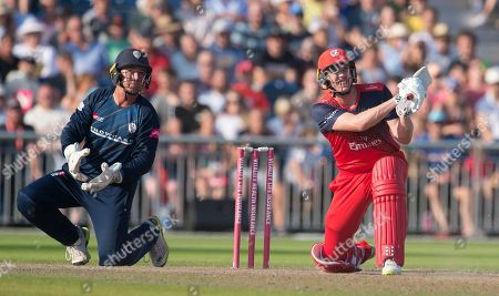 Editorial picture of Lancashire v Derbyshire, Vitality T20 Blast, Emirates Old Trafford, Manchester, UK - 26 Aug 2019