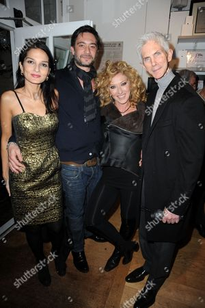 Yasmin Mills, Kelly Hoppen's boyfriend Adam, Kelly Hoppen and Richard Buckley