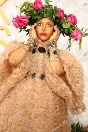 Stock Photo of Erykah Badu