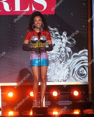 LIL Mama performs on stage at the 2019 Black Girls Rock! Awards at the New Jersey Performing Arts Center, in Newark, NJ