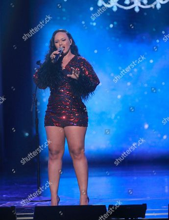 Stock Picture of Elle Varner performs on stage at the 2019 Black Girls Rock! Awards at the New Jersey Performing Arts Center, in Newark, NJ