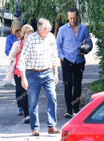 Editorial image of Richard E Grant out and about, Cotswolds, UK - 24 Aug 2019