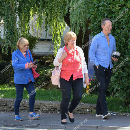 Editorial picture of Richard E Grant out and about, Cotswolds, UK - 24 Aug 2019