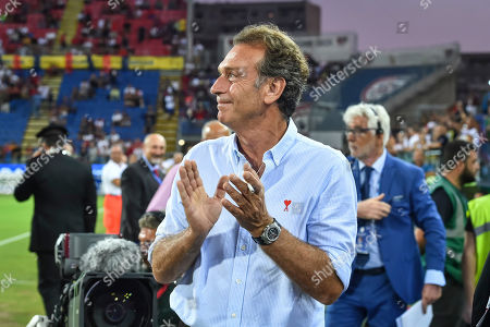 President Massimo Cellino of Brescia FC