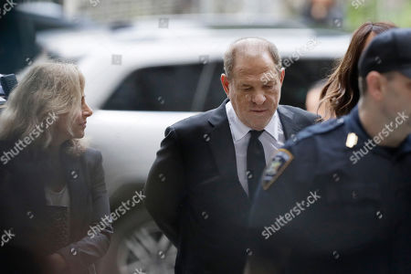 Harvey Weinstein arrives in court, in New York. Weinstein's lawyers want the trial moved from New York City to Long Island or upstate New York - part of the last-minute wrangling that includes efforts by prosecutors to bolster their case with testimony from actress Annabella Sciorra, who says Weinstein raped her in the 1990s. Weinstein has denied all accusations of non-consensual sex