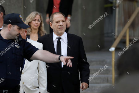 Harvey Weinstein leaves court, in New York. Weinstein's lawyers want the trial moved from New York City to Long Island or upstate New York - part of the last-minute wrangling that includes efforts by prosecutors to bolster their case with testimony from actress Annabella Sciorra, who says Weinstein raped her in the 1990s. Weinstein has denied all accusations of non-consensual sex