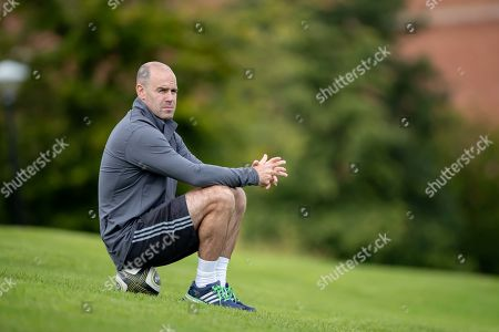 Stock Image of Charlie Hodgson watches training