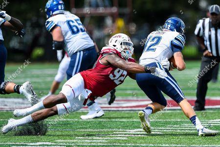 Editorial image of NCAA Football Villanova vs Colgate, Hamilton, USA - 24 Aug 2019