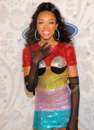 Lil Mama arrives at the red carpet at the 2019 Black Girls Rock! Awards at the New Jersey Performing Arts Center, in Newark, NJ