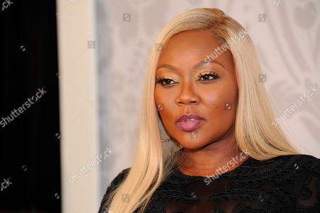 Stock Photo of LaTocha Scott arrives at the red carpet at the 2019 Black Girls Rock! Awards at the New Jersey Performing Arts Center, in Newark, NJ