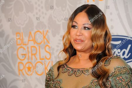 Stock Image of CeCe Peniston arrives at the red carpet at the 2019 Black Girls Rock! Awards at the New Jersey Performing Arts Center, in Newark, NJ