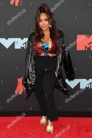 Editorial image of MTV Video Music Awards, Arrivals, Fashion Highlights, Prudential Center, New Jersey, USA - 26 Aug 2019