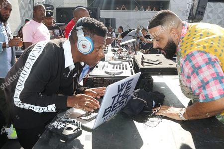 Stock Image of DJ Nasty and DJ Khaled