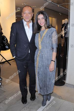 Joe Zee and Tia Cibani