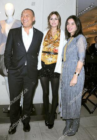 Joe Zee, Olivia Palermo and Tia Cibani