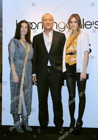 Tia Cibani, Joe Zee and Olivia Palermo