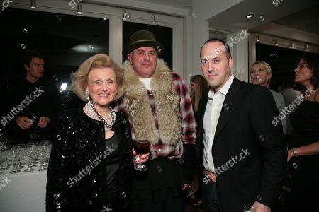 Barbara Davis, Ray Azoulay and Frank Zambrelli