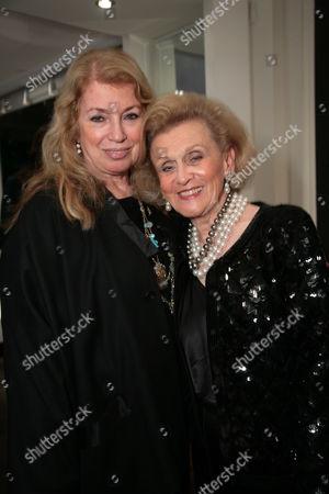 Joanna Poitier and Barbara Davis