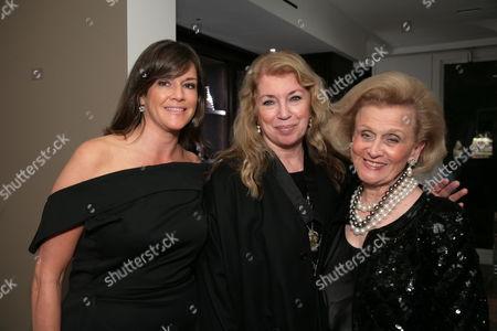 Dana Davis, Joanna Poitier and Barbara Davis