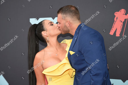 Jenni J-Woww Farley, Zack Clayton Carpinello. Jenni J-Woww Farley, left, also known as Jenni J-Woww Farley, and Zack Clayton Carpinello kiss as they arrive at the MTV Video Music Awards at the Prudential Center, in Newark, N.J